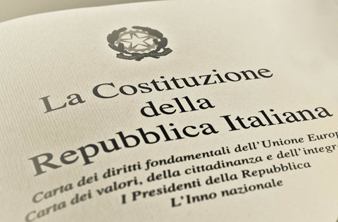 riforma della costituzione italiana