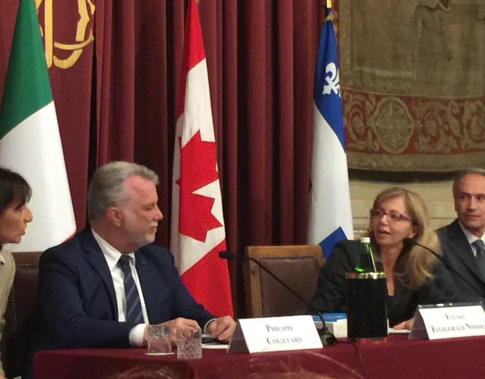 comunicato stampa Quebec