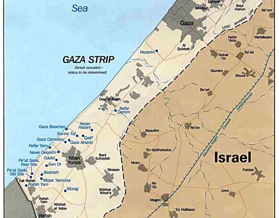 missione italiana a Gaza